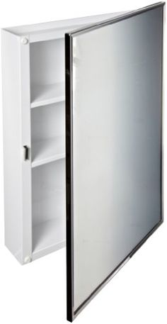 http://www.yourhomeandkitchen.info/bobrick-297-steel-surface-mounted-medicine-cabinet-baked-white-enamel-finish-3-34-depth-2-shelves-review/ - The Bobrick B-297 surface-mounted medicine cabinet is made of steel has two fixed shelves and is suitable for the home...
