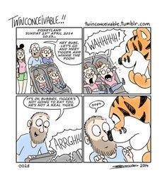 A real tiger.