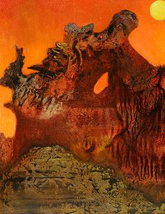 Max Ernst Max Ernst, Abstract Landscape Painting, Landscape Paintings, Abstract Art, Landscapes, Mental Health Art, Surreal Art, Modern Art, Contemporary Art