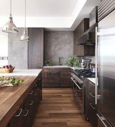 Mẫu phòng bếp với phong cách nội thất đồ gỗ giản dị nhưng đẹp đến bất ngờ   aFamily