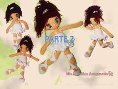 Vestido Bailarina crochet muñeca Lilia parte 2