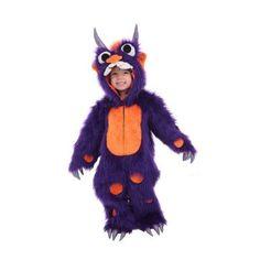Infant / Child Morris the Monster Costume Princess Paradise 4228, Boy's, Size: Medium, Multicolor