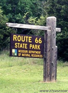 Route 66 Missouri - The site of Times Beach now houses a 419-acre state park commemorating U.S. Route 66.