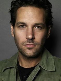 Paul Rudd. Oh, yes. I have an eternal major crush on this guy.