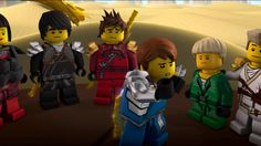 You know, Ninjago is just like these cute little people and, you know, they just, you know...