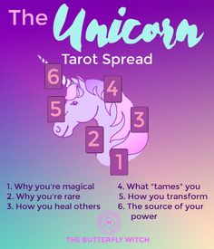 #Unicorn #Tarot #Spread - The Butterfly Witch