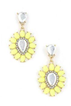 Neon Sunburst Earrings   emmajoy