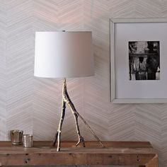 Branch Table Lamp - Polished Nickel | west elm