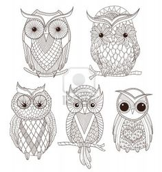 Cool owl patterns i could use with my perler beads