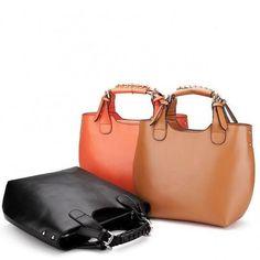 Real Genuine Leather Purse Vintage Hobo Shoulder Bag Handbag Tote Women  Lady New 58091c455a40b