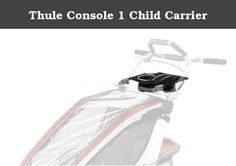 Thule Console 1 Child Carrier. Add a zippered pocket and built in cup holder to your Thule child carrier. Thule's multifunctional child carriers are one of the highest performing and most versatile products on the market allowing you to enjoy multiple activities year round. With the Chariot family of multifunctional child carriers, Thule has more than 20 years experience of child carry solutions.