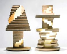 立體拼圖檯燈 Babele Lamp is Like A Giant Puzzle | MyDesy 淘靈感