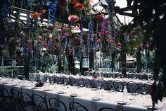 A MAGICAL GARDEN SOIREE | HANGING FLOWERS | FLORAL INSTALLATION | CEILING FLOWERS | HONEY LANE | WEDDING RECEPTION | THE GROUNDS OF ALEXANDRIA | SYDNEY | WEDDING STYLING | EVENT PLANNING & DESIGN