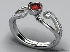 red diamond engagement ring - My Engagement Ring My Engagement Ring, Designer Engagement Rings, Love Ring, Dream Ring, Unique Rings, Beautiful Rings, Wedding Jewelry, Wedding Rings, Bridal Jewellery