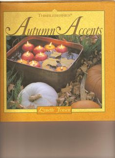 Thimbleberries Autumn Accents Coffee Table Book by Lynette Jensen Home Decor…