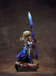 Another new piece of the High Elves army I'm painting for a long time