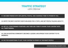 Traffic strategy