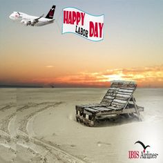 #HappyLaborDay! Hope you have your feet kicked up enjoying summer's last long weekend. #IBISAirlines