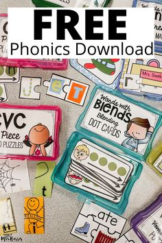 Phonics Intervention Free Download - Keeping Up with Mrs. Harris
