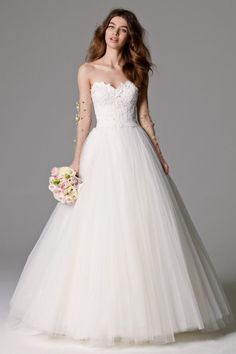 Watters Nadia Skirt - If you're interested in this and other gowns please RSVP today for our Watters trunk show. 714.529.0123