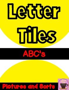 How To Make A Letter Sight Word Mats Bundle  Tpt Misclessons  Pinterest