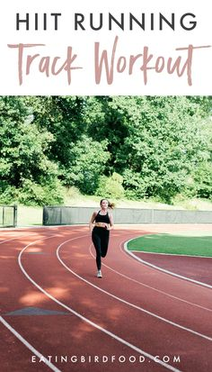 A quick and effective running HIIT workout that you can do on a track, on the road or a treadmill + a look at Athleta's new Run Free system. Hiit Workout At Home, Treadmill Workouts, Track Workout, Running Workouts, Running Tips, Treadmill Running, Workout Plans, Workout Routines, Workout Ideas