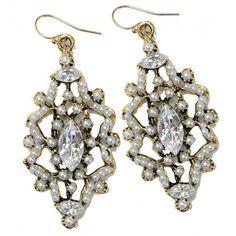 Diana Warner Tara Earrings found on Polyvore - $91