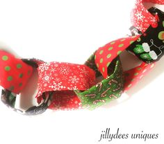 A personal favorite from my Etsy shop https://www.etsy.com/listing/255464395/christmas-fabric-garland-photo-prop