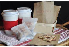 DIY Santa Cookies (and Reindeer Food) by thinkgarnish: Simple packaging makes it special!    DIY
