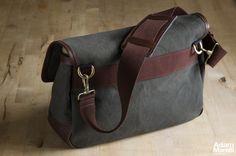 Medium bag, back and strap detail.  © Adam Marelli