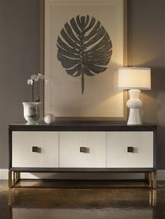 Vanguard Furniture: Room Scene VG_RS_P219SC Wallace storage console