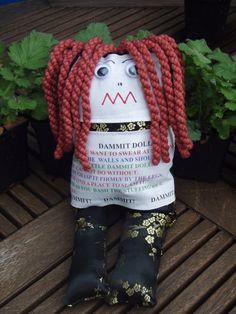 DAMMIT DOLL!!  Everybody needs one!! Dammit Doll, Ugly Dolls, Polymer Clay Dolls, Voodoo Dolls, Sewing Dolls, Fabric Beads, Rag Dolls, Creative Ideas, Sock