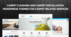 Carpet cleaning and carpet installation WordPress themes for carpet related services #CarpetCleaning #CarpetInstallation #WordPress #themes #WebDesign #Website #WebDevelopment
