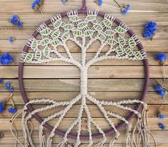 It's giveaway time! Enter to win this 12 inch Tree of Life macrame wall hanging by joining the mailing list on my website! These are worth $100!!! Handmade with hemp and beautiful glass beads. Winner will be announced July 4th  Feel free to share, comment and spread the word. ✌️❤️ goodluck! Www.evergreenbohemian.com