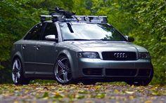 Audi B6 S4 on 19 inch Hartmann HRS6-204-GS wheels