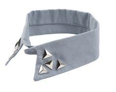 Piramit Yaka | Modapik | Gri Yaka Yakalar Collar 45 TL