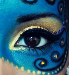 Masquerade - Makeup mask.