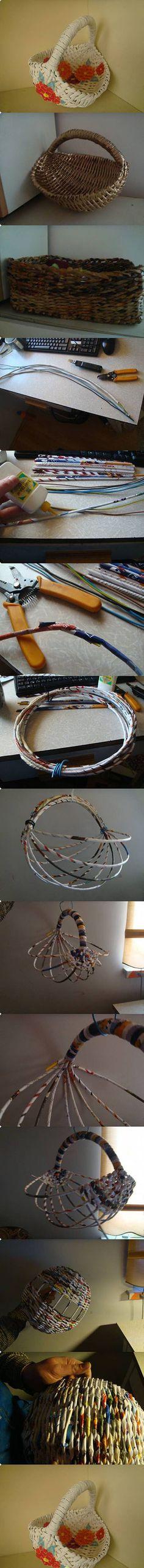 Diy Beautiful Basket   DIY & Crafts Tutorials