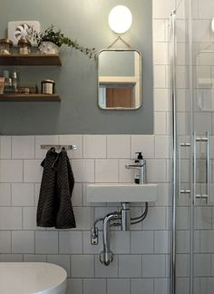 The white bathroom attracts with simplicity, purity and timeless elegance. If you are thinking of decorating your bathroom all in white. Pallet Bathroom, Bathroom Inspo, Laundry In Bathroom, Bathroom Signs, Bathroom Wall, Bathroom Interior, Modern Bathroom, Bathroom Ideas, Small Bathroom Inspiration