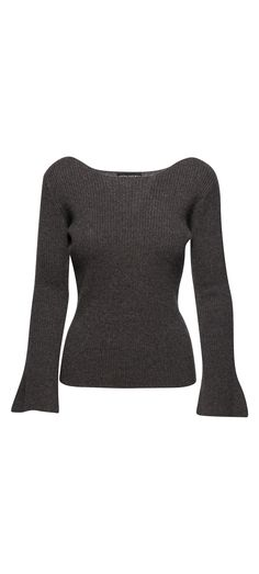 Central Park West Salzburg Pullover Sweater in Grey / Manage Products / Catalog / Magento Admin