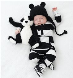 Jailbird Jumper / Baby Boy Romper / Coming Home Outfit / Baby Shower Gift / Newborn Baby Boy / Baby Boy Clothes / Baby Present / Modern Baby / Jumper / Black & White Baby / Trendy Baby