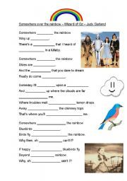 English teaching worksheets: The Wizard of Oz. Lots of them. All FREE.