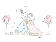 Caho(@chico0811)さん / Twitter Kawaii Chan, Kawaii Art, Dibujos Cute, Cute Characters, Character Concept, Cute Art, Cute Couples, Comic Art, Chibi