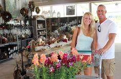 Saturday was a festive day at The Barn Nursery, in Chattanooga, TN.  090713 www.barnnursery.com 423 698-2276