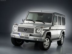 Mercedes Benz G Class...once I saw it I fell in love.