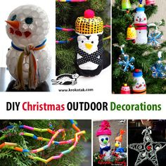 DIY Christmas Outdoor Decorations