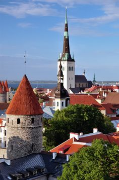 Tallinnan vanha kaupunki Tallinn Old Town.