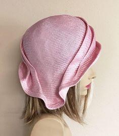 Sinamay Hats, Millinery Hats, Fascinator Hats, Bandana, Hat Patterns To Sew, Stylish Hats, Kentucky Derby Hats, Crochet Shoes, Cloche Hat