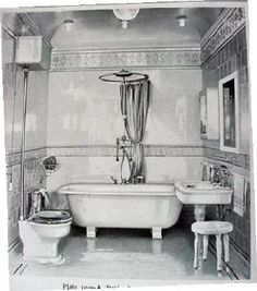 Vintage Plumbing Bathroom Antiques - Victorian Designs