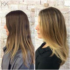 Balayage , color , hair ,straight hair | BALAYAGE ...